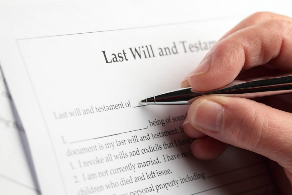 Tips for writing a will